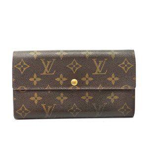 Auth Louis Vuitton Porte Monnaie Credit #6064L10